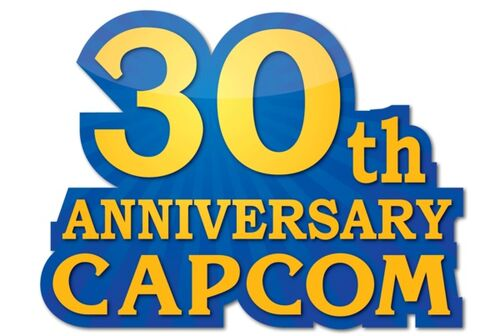 30th anniversary capcom logo