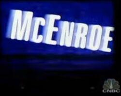 McEnroe