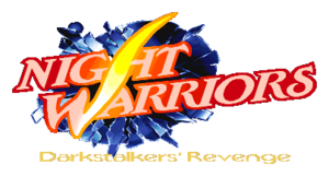 Night Warriors Darkstalkers Revenge Logo