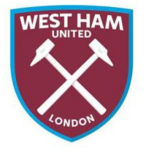 New West Ham United FC logo (claret and blue v1)