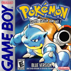 Pokemon blue cover art by comunello76-d4xvjro