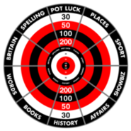 Bullseye Category Board Series 4