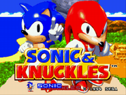 GENESIS--Sonic and Knuckles Oct2 9 07 23