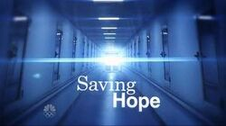 Saving Hope Title Card