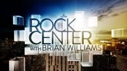 Rock Center With Brian Williams Logo