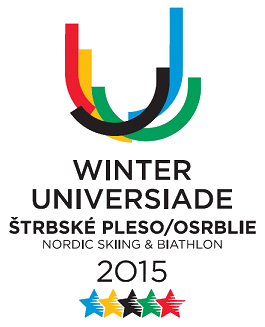 Winter Universiade 2015 Štrbské Pleso Osrblie logo