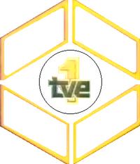 TVE1 1982-1989 Rare logo