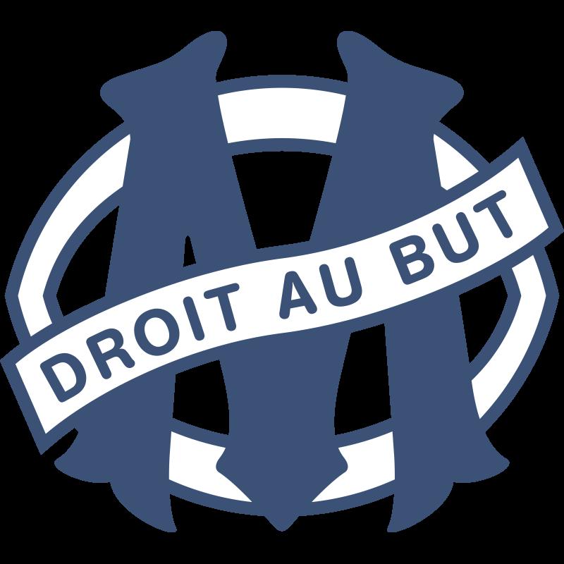 Olympique de Marseille logo (1986-1990)