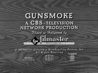 Cbs television-1958 gunsmoke