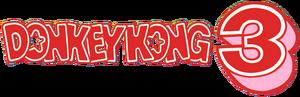 Donkey Kong 3 Logo