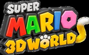 Logo EN - Super Mario 3D World
