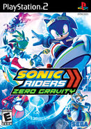 Sonic Riders Zero Gravity PS2 Box Art