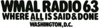 WMAL Washington 1977