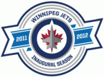Winnipeg Jets logo (inaugural season)