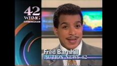 WBMG 42 News 10 promo with Fred Barnhill 1992