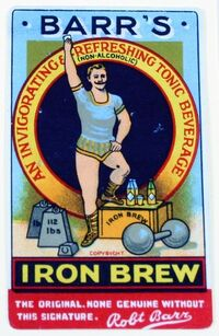 Irn-Bru logo 1922