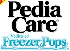 PediaCare freezer pops logo