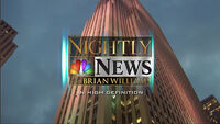 NBC Nightly News (2007 - Widescreen)