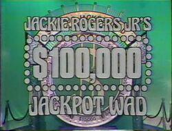 Jackie Rogers Jr's $100,000 Jackpot Wad