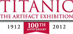 100Tth Titanic Logo Red