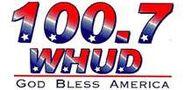 WHUD-FM's 100.7's God Bless America Logo From Late 2001