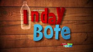 Inday bote titlecard