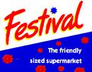 Festival the Friendly Sized Supermarket logo