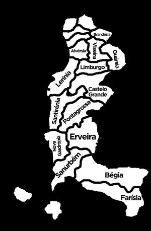 Federative map of South Matamah