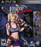 Lollipop Chainsaw Box Art PS3 USA