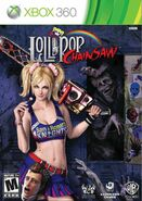 Lollipop Chainsaw Box Art XBox360 USA