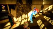 Blue Headless Zombie Minigame 2