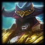 Square Twisted Fate 0