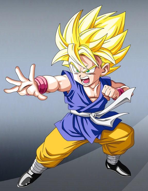 Super Saiyan 3 Goku Drawings Goku as a Super Saiyan in