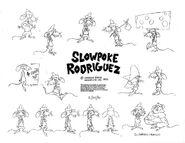 Slowpoke rodriguez model sheet by guibor-d71lgl6