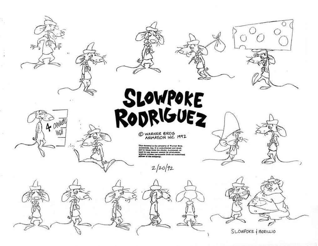 Slowpoke Rodriguez Looney Tunes