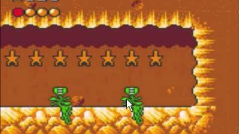 Desert Speedtrap (Sega GameGear) - Walkthrough - Level 2 - Cliff Chase