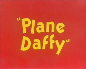 Plane Daffy restored