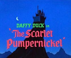 The Scarlet Pumpernickel Title