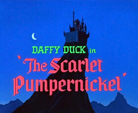 The Scarlet Pumpernickel Title
