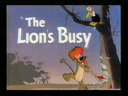 Lionsbusy