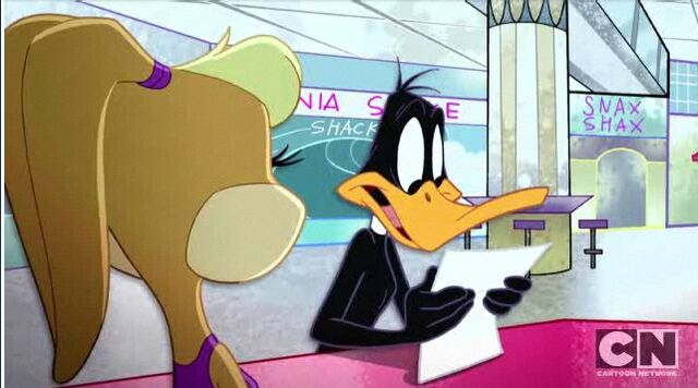 File:Daffy duck reading Script.jpg