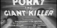 Porky the Giant Killer