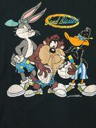 Worn Men's Warner Bros Acme Sand Blasters Size Large Bugs Bunny Taz
