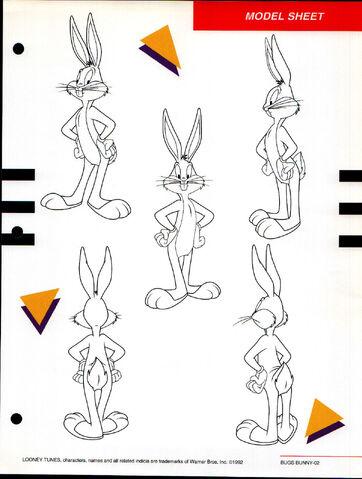 File:Bugs Bunny Character Rotations.jpg