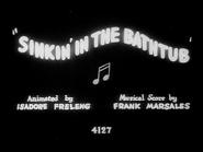 Sinkin' in the Bathtub