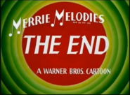 Merrie Melodies ending sequence