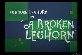 Broken Leghorn 1959
