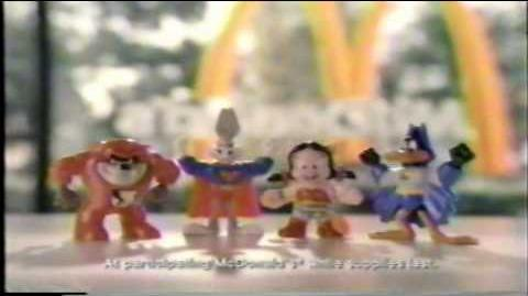 1992 McDonalds Happy Meal Commercial with the Looney Tunes