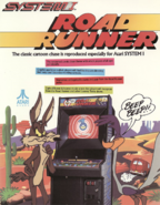RoadRunner arcadeflyer