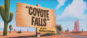 Coyote Falls Title Card